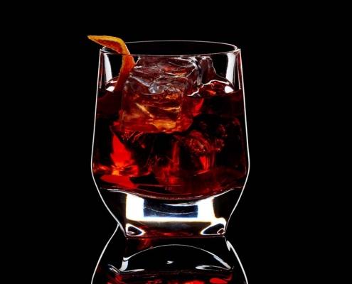 Legendärer Negroni Cocktail