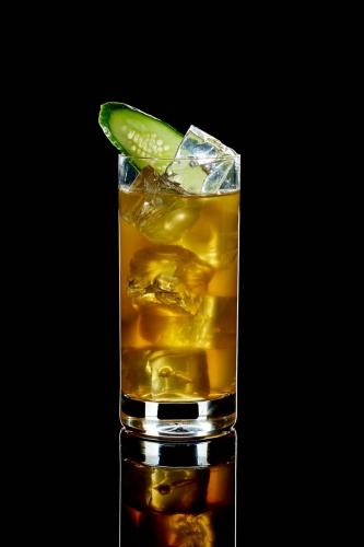 Cocktail mit Gurke